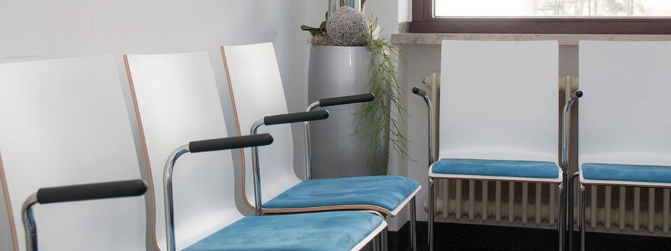 Wartezimmer des MVZ Klinik Krumbach